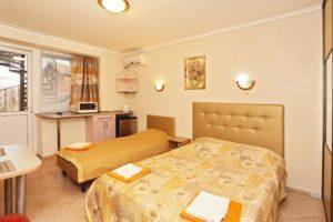 Цены на отдых в отеле Коктебеля