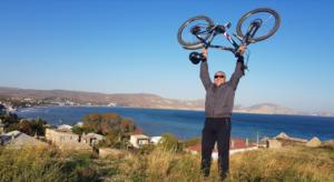 велосипедист-победитель