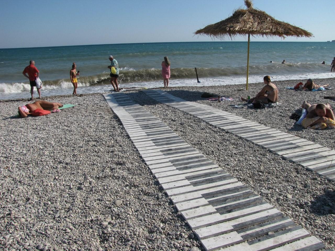 фото развлечений на пляже в Коктебеле
